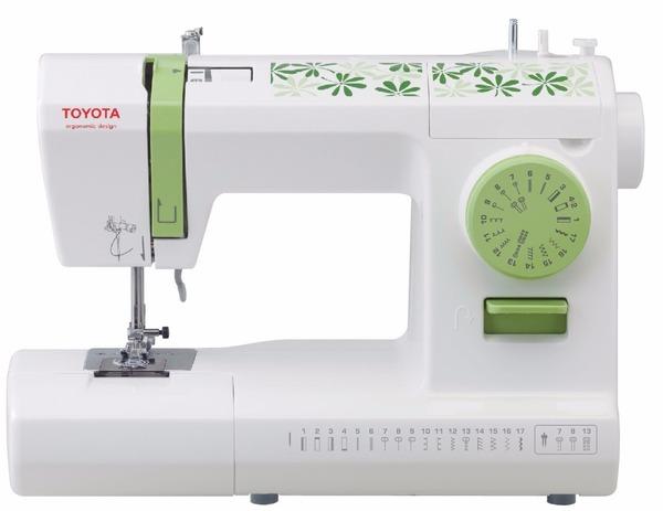 Maquina de coser toyota eco 17c