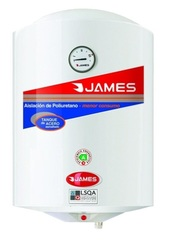 Termotanque James 40 Lts. Electrico / Colgar