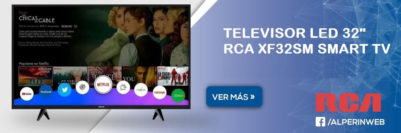 Televisor led 32 rca xf32sm smart tv