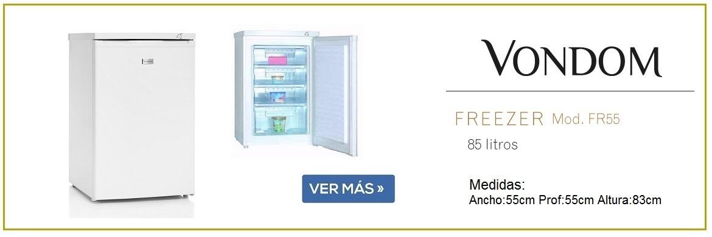 Freezer vondom fr 55 blanco