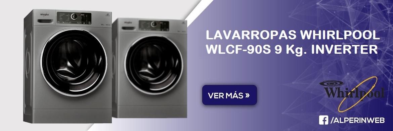 Lavarropas whirlpool wlcf 90s 9kg