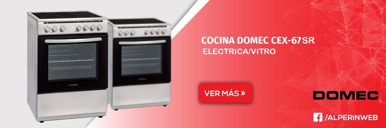 Cocina domec cex 67sr electricavitro