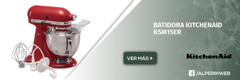 Batidora kitchenaid ksm15er